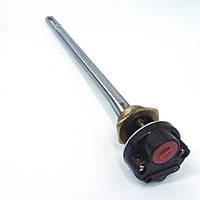 """ТЭН 500 Вт с термостатом 15 А для алюминиевого радиатора, резьба G 1"""" (32,8 мм)"""