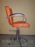 Кресло парикмахерское КР 014, на гидравлической колонне
