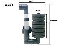 Фильтр аэрлифтный XY-2830, механическая фильтрация, до 45л