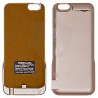 Чехол-батарея iPhone 6\6S - POWER CASE (5800 mAh), золотистый