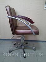Кресло для парикмахерских КР 015, гидравлика
