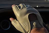 Перчатки водителя кожа Италия
