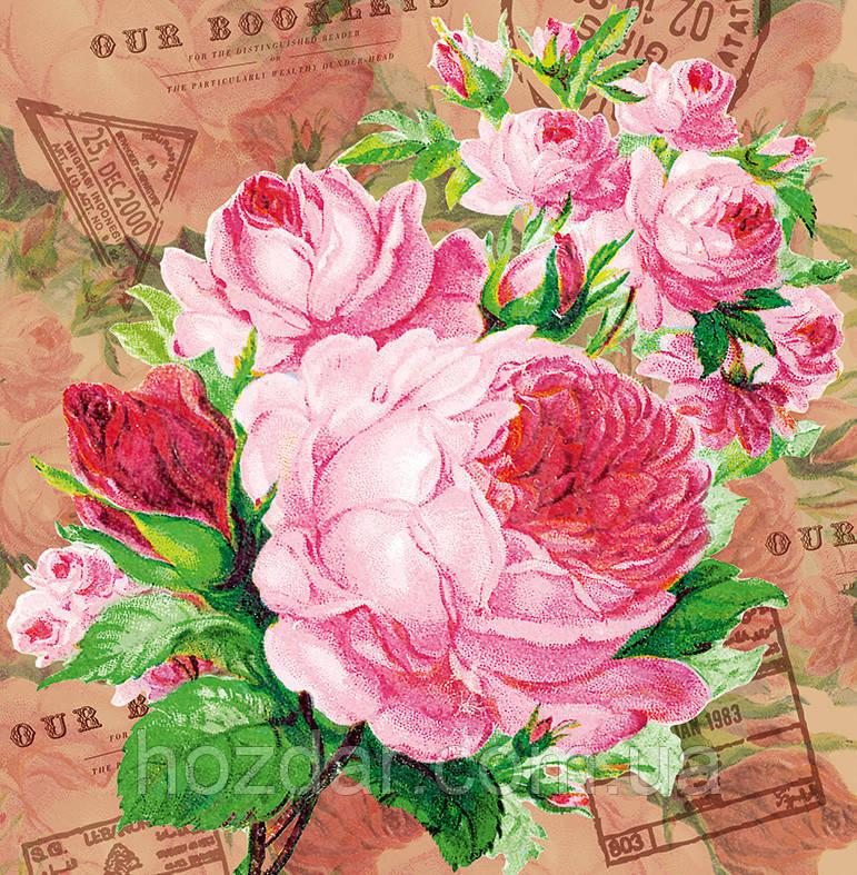 Пакет подарочный бумажный квадрат 23х24х10 (24-060)