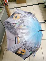 Зонт трость женский