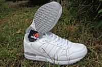 Мужские кроссовки Adidas ZX 750 White из натуральной кожи  ( 41 , 44 р ) , осень