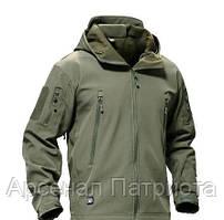 Куртка тактическая Softshell олива