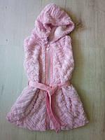 Детская меховая жилетка безрукавка 14002 Венгрия