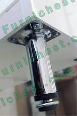 Тумба под раковину для ванной комнаты Аэрография 60-09 с умывальником Либра  Голубые цветы, фото 3