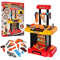Игровой набор для мальчиков Набор инструментов 661-181 - столик 66*42*26см, дрель, отвертка, молоток, пил