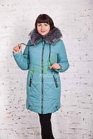 Женская модная зимняя куртка больших размеров 2017-2018 - (модель кт-157)