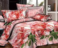 Полуторное постельное белье с простыней на резинке 90/200/25 Феерия, ранфорс