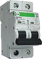 """Модульний автоматичний вимикач АВ2000 EVO 10кА    """"C""""  2P  1А"""