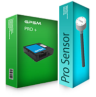 GPS + цифровой датчик топлива в бак Pro Sensor