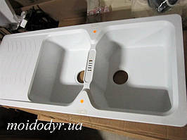 Мойка кухонная гранитная Franke  Bahia BAG 621 bianco