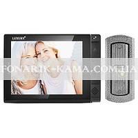 Видеодомофон LUXURY 806 R2, черный, цветной, память, SD