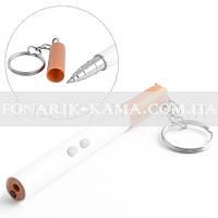 Фонарь Брелок 9107 сигарета, ручка+лазер
