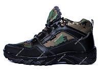 Чоловічі камуфляжні спортивні черевики на хутрі (КБ-5м)