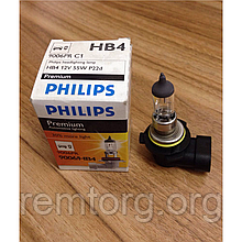 Автомобільна лампа PHILIPS 9006/HB4 12V 55W P22d