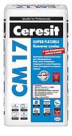 Клей для плитки эластичный Ceresit CM-17 25кг
