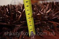 Ковры элитные, шоколадно коричневый ковер травка, ковры лапша, необычные ковры, фото 1