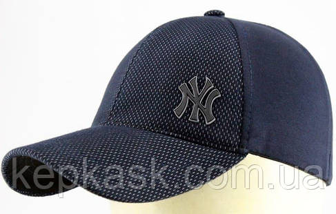 Бейсболка трикотаж blue fraction New York, фото 2