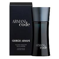 Armani Code edt 75 ml tester (M) Оригинал Франция