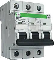 """Модульний автоматичний вимикач АВ2000 EVO 10кА    """"C""""  3P  1А"""