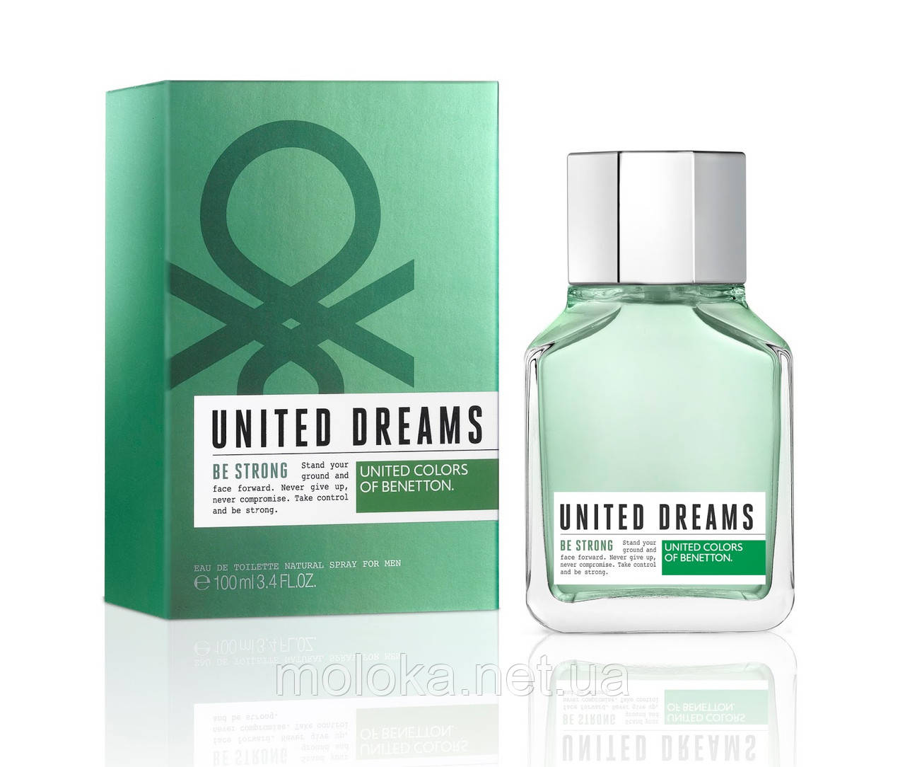 Benetton United Dreams Man Be Strong; 100 ml Tester  Оригинал