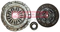 Сцепление Daewoo Matiz (диск нажимный+ведомый+подшипник) (производство KAMOKA)