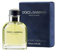 Dolce&Gabbana Pour Homme; 125 ml  Оригинал