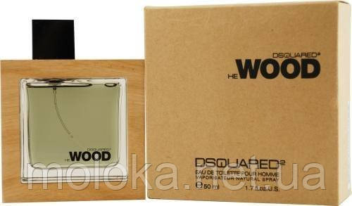 Dsquared Wood He Edt; 100 ml Tester  Оригинал