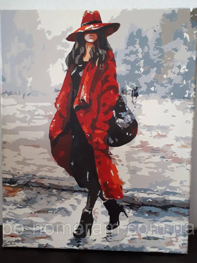 Фото картины для рисования Турбо Красный - мой цвет