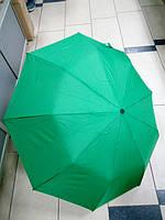 Зонт женский складной полуавтомат Mario однотонный, фото 1