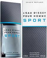 L' Eau D'Issey Pour Homme Sport; 50 ml  Оригинал