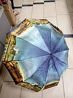 Зонт женский складной полуавтомат города, фото 1