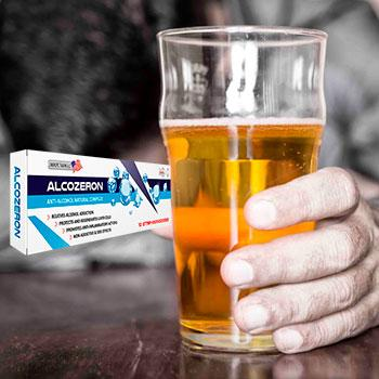 Alcozeron (Алкозерон) - средство от алкогольной зависимости. Цена производителя. Фирменный магазин.