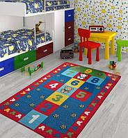 Ковер в детскую комнату Confetti 100*150 - Seksek 04 красный