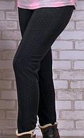 Теплые женские классические штаны