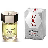 YSL L'HOMME SPORT edt 100 ml spray tester (M) NEW  Оригинал