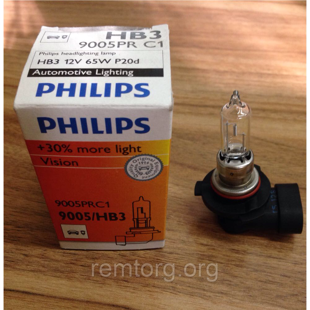 Лампа автомобильная Philips 9005prc1 - фото 4