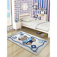 Ковер в детскую комнату Confetti 100*160 - Sailor белый