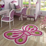 Ковер в детскую комнату Confetti 100*160 - Sweet Butterfly розовый