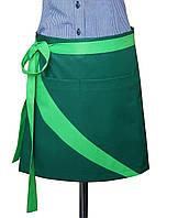 Униформа официанта. Фартук для официантов с контрастной отделкой.