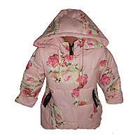 Куртка демисезонная для девочки р.74-98  8629