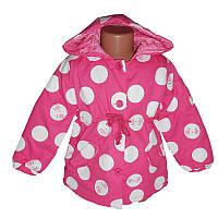 Куртка демисезонная для девочки р.80-104  Е-8616