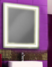 Зеркало для ванной комнаты d-3 со светодиодной подсветкой 683х800