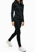 Спортивный костюм Женский черный 00202 все размеры