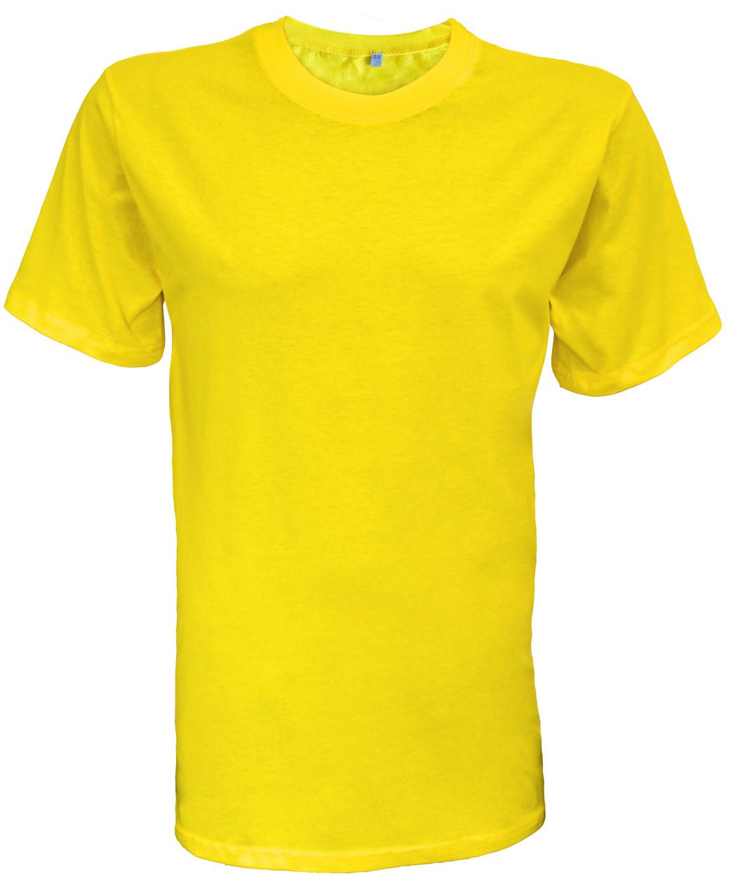 Футболки желтые
