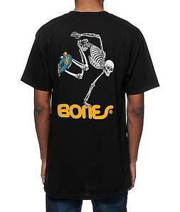 Футболка мужская стильная Bones Skate Skeleton (реплика)