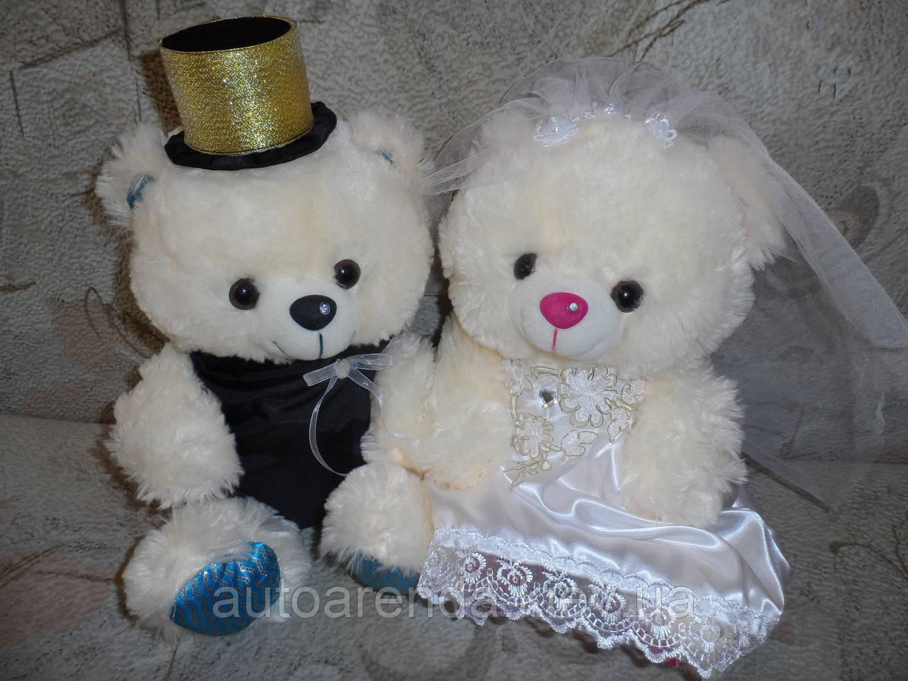 Мишки на свадебное авто (14)